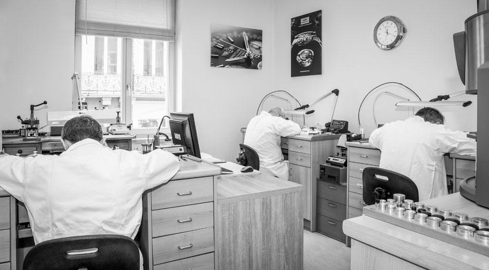 Atelier entretien reparation montres et bijoux