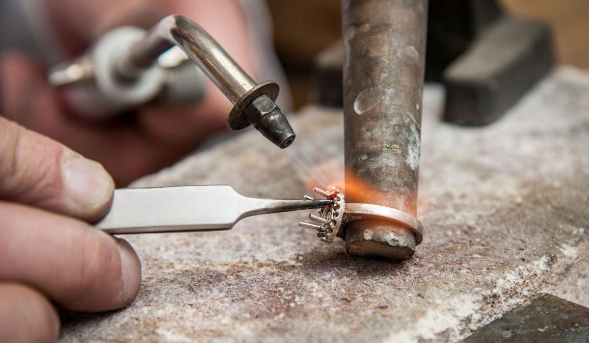 artisanat fabrication bague