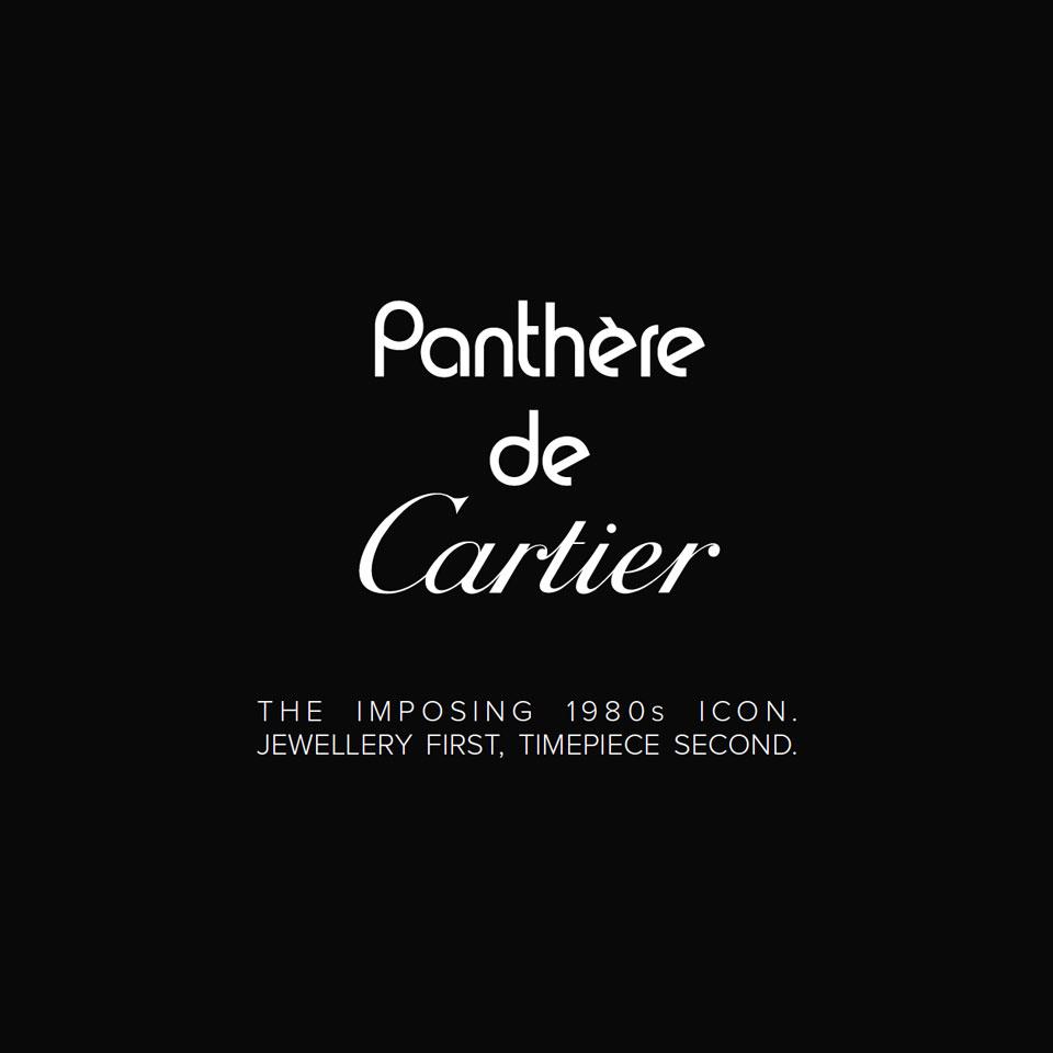 Panthère de Cartier - Brussels Authorised Cartier retailer