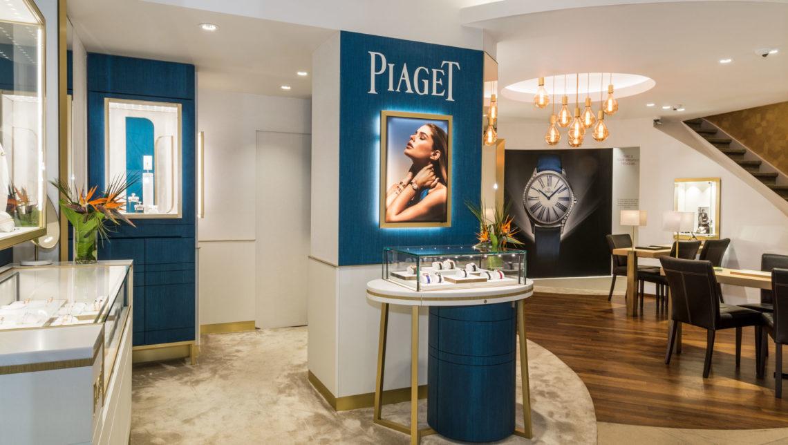 Tollet Salon Piaget à Bruxelles