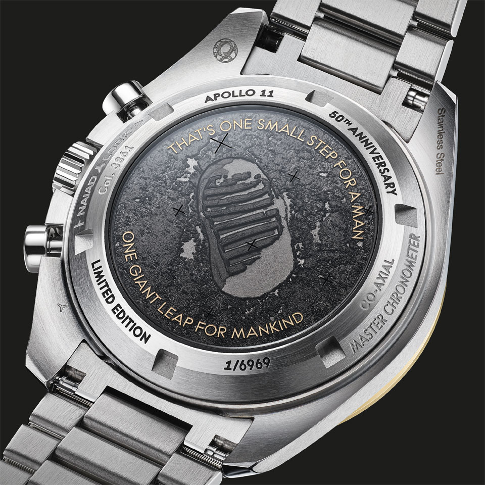 Tollet OMEGA Speedmaster Apollo 11 - 50th anniversary - Limited-Edition