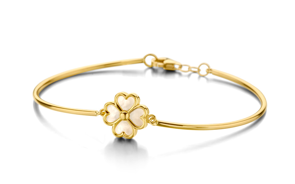 fin bracelet d'or jaune 18 carats, collection Tollet